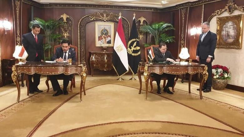 Indonesia dan Mesir Teken MoU Kerja Sama Penanggulangan Terorisme