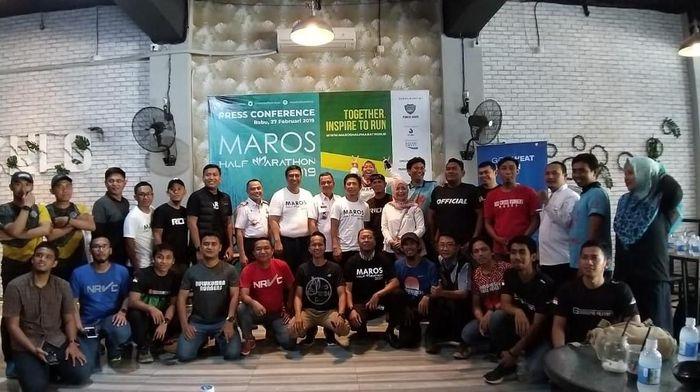 Maros akan menggelar lomba lari half marathon di bulan Juni 2019. Foto: Moehammad Bakrie