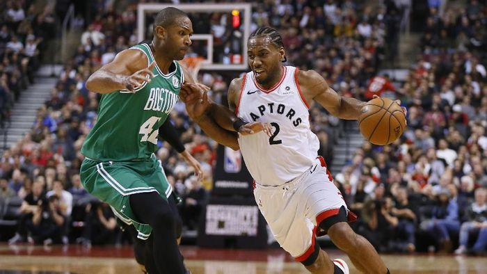 Toronto Raptors menang 118-95 atas Boston Celtics (Foto: John E. Sokolowski-USA TODAY Sports)