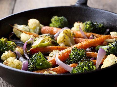 Menu diet GM hari kedua adalah sayur-sayuran.