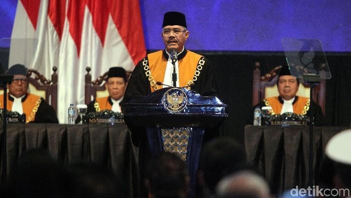 Ketua MA Hatta Ali (rengga/detikcom)