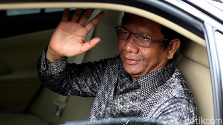 Mahfud Md: KPK Independen, dari Kubu Mana Pun Ada Wakilnya di Tahanan