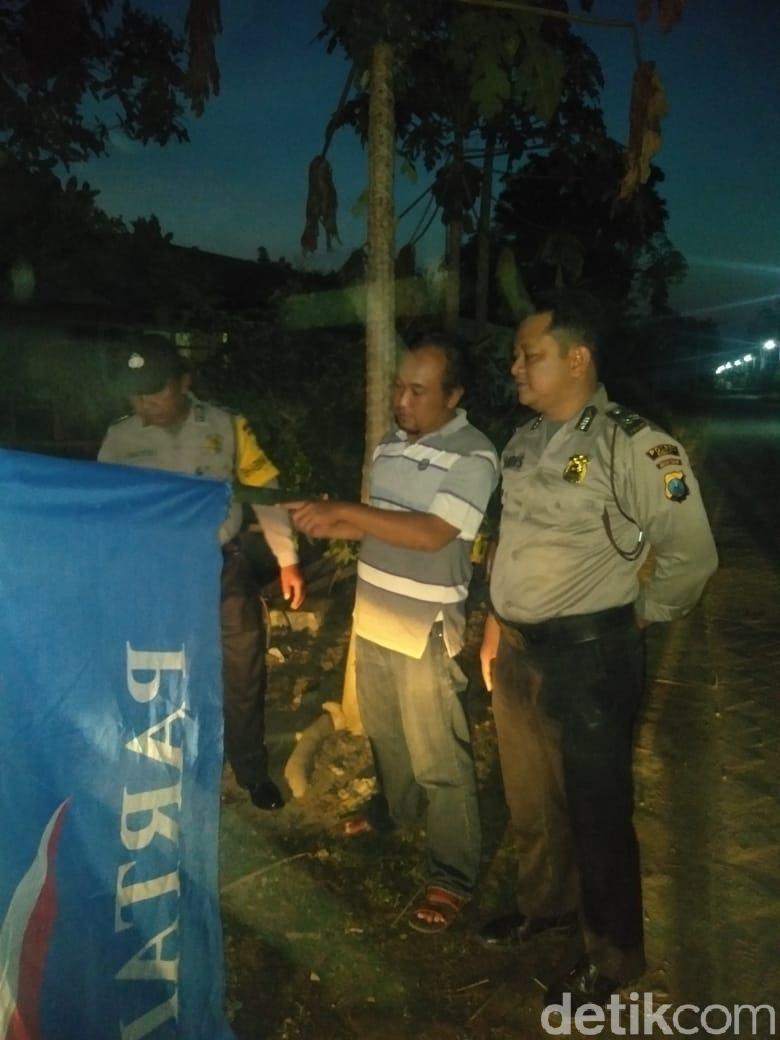 Warga Ngawi Tewas Tersengat Listrik Saat Pasang Bendera Partai