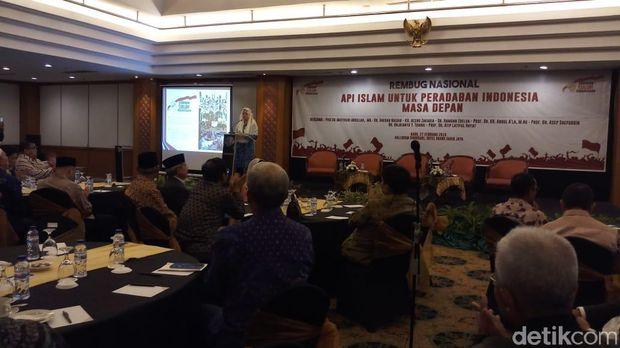 Puan Maharani bicara soal keislaman Sukarno di acara rembuk nasional Gerakan Suluh Kebangsaan
