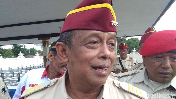 Djoko Santoso di Yogyakarta, Rabu (27/2/2019).