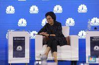 Show Off Sri Mulyani di New York: Inflasi Rendah & PDB Stabil