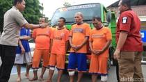 Komplotan Pencuri Truk Lintas Provinsi Dihadiahi Timas Panas