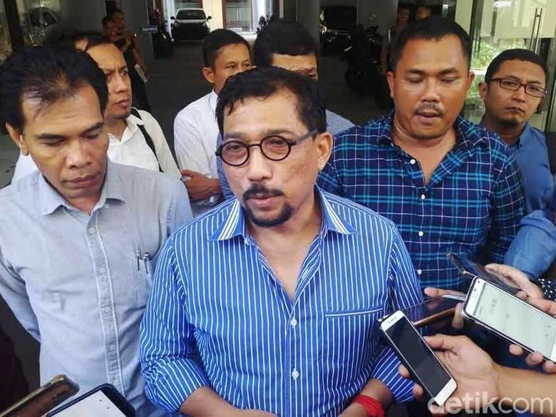 Datangi Polda Jatim, TKD Kaji Aksi Anarkis Pembakaran Atribut Jokowi