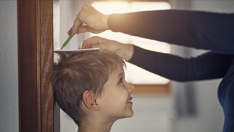 Ilustrasi tinggi badan anak/ Foto: iStock