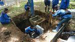 100 Titik Sumur Resapan Dibangun di Monas