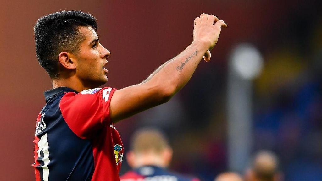 Cristian Romero, Bek Genoa yang Hampir Menangis karena Juventus