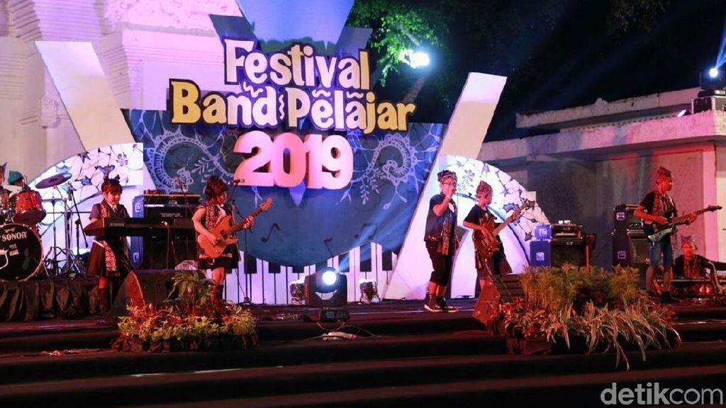 Festival Band Pelajar Banyuwangi, Wadah Anak SD dan SMP Unjuk Gigi
