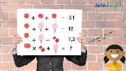 Apakah stamina otak kamu masih cukup bugar untuk mengerjakan deretan soal berikut ini? Coba selesaikan dengan sekali percobaan dan bagikan jawabannya.