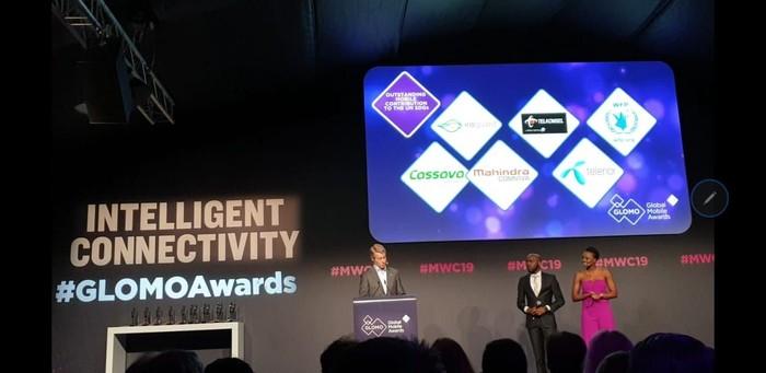 Habibi Garden sabet penghargaan di MWC 2019. Foto: Telkomsel