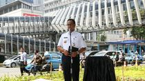 Anies Sebut Warga DKI Pengguna Transportasi Umum Turun Jadi 23%