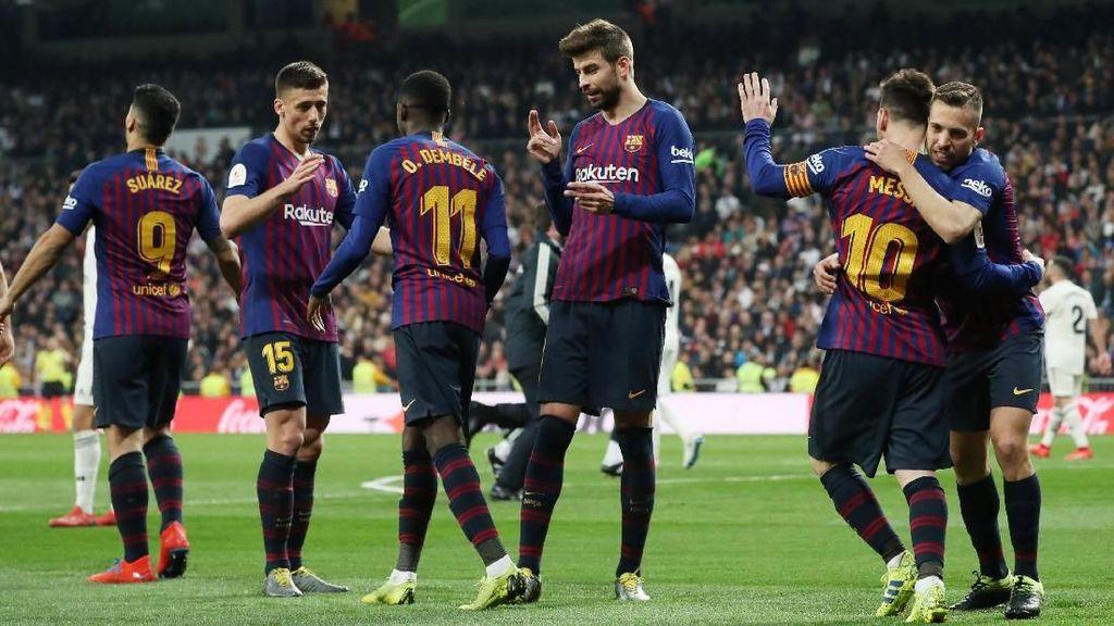 Madrid Buang-buang Peluang, Dihukum Barca yang Efektif