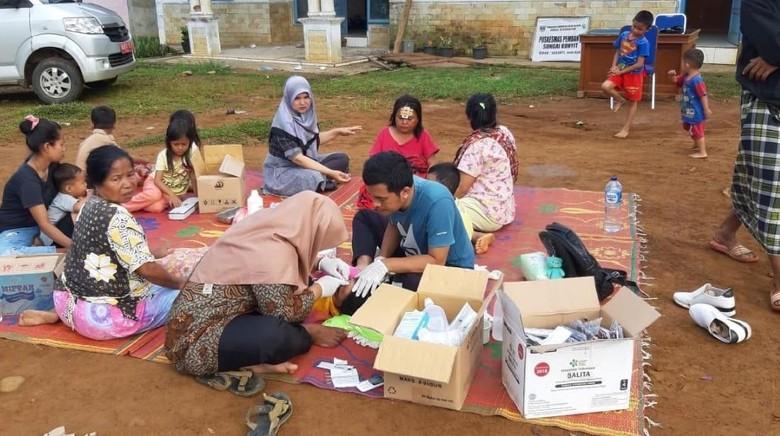 10 Orang Luka Akibat Gempa Solok Selatan