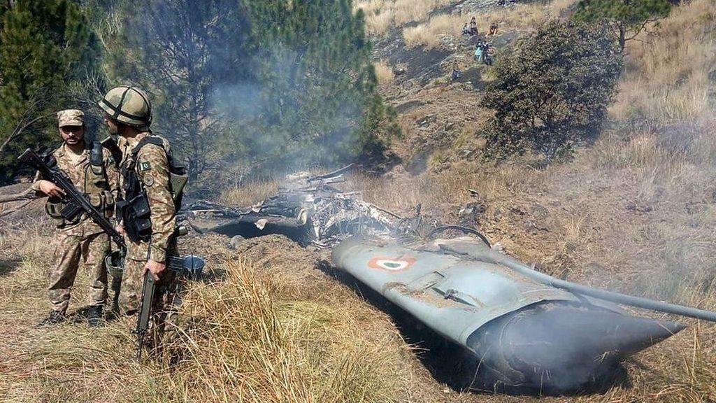 India Serukan Pakistan Bebaskan Pilot yang Pesawatnya Ditembak Jatuh