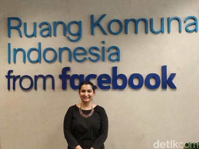 Sheen Handoo, Part of Content Policy, Facebook APAC Foto: detikINET/Agus Tri Haryanto