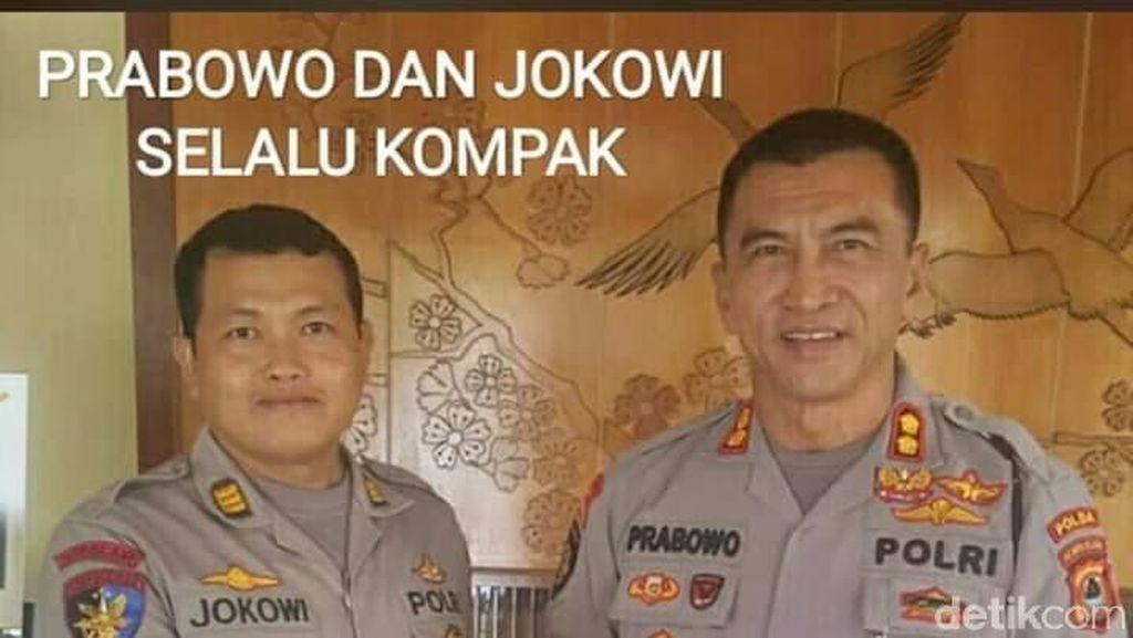 Berbincang dengan Polisi Jokowi-Prabowo yang Fotonya Viral Banget
