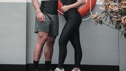 Romantisnya Daffa dan Gita. Keduanya sama-sama YouTuber kesehatan yang terkenal dan sering membagikan foto dan video tengah olahraga bersama. So sweet abis!