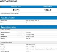 Geekbench Ungkap Jeroan Oppo F11 Pro