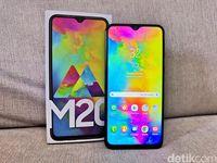 Galaxy M20, Ponsel Samsung yang Beda