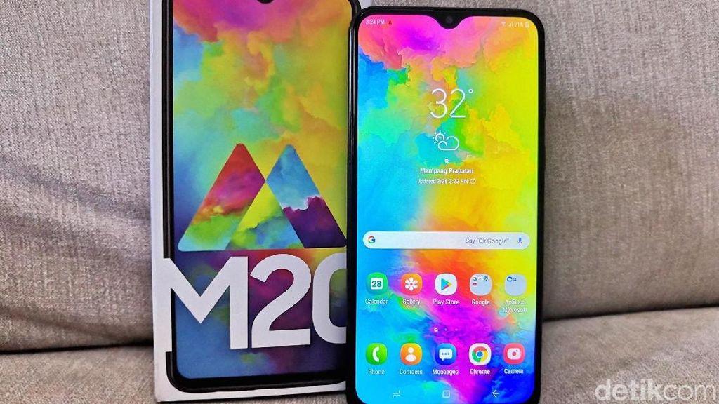 Samsung Gulirkan Android 9 Pie ke Trio Galaxy M Bulan Depan