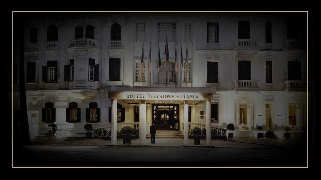 Hotel Metropole Hanoi Pernah Diinapi Chaplin hingga Donald Trump