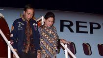 Bareng Iriana, Jokowi Blusukan di Pasar Sentral Gorontalo