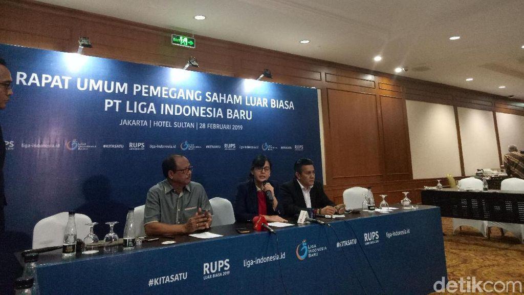 Gusti Randa dan Dirk Soplanit Jabat Komisaris dan Direktur PT LIB