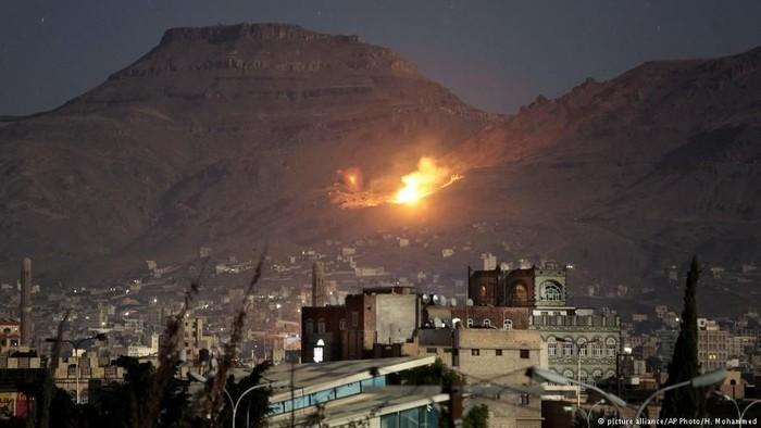 Foto ilustrasi: Suasana Yaman yang dilanda konflik (DW News)