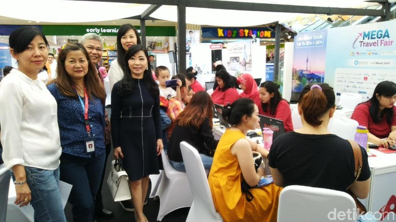 Foto: Mega Travel Fair Semarang (Angling Adhitya Purbaya/detikTravel)