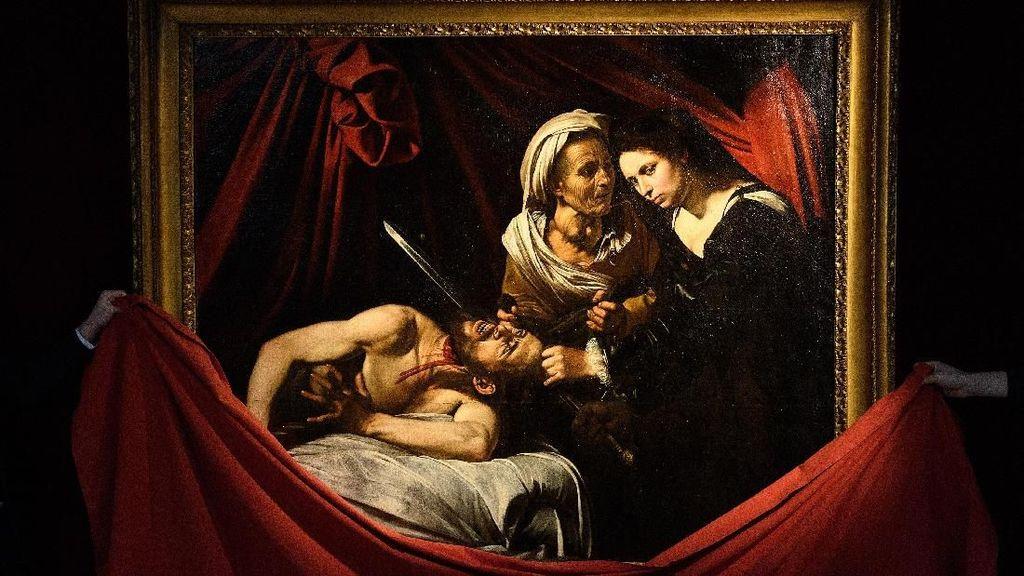 Lukisan Caravaggio yang Ditemukan di Loteng Bakal Dilelang Rp 2,5 T