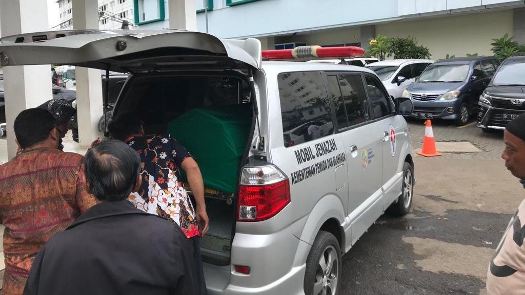 Jenazah Eks Menpora Mahadi Sinambela akan Dimakamkan di Pondok Rangon