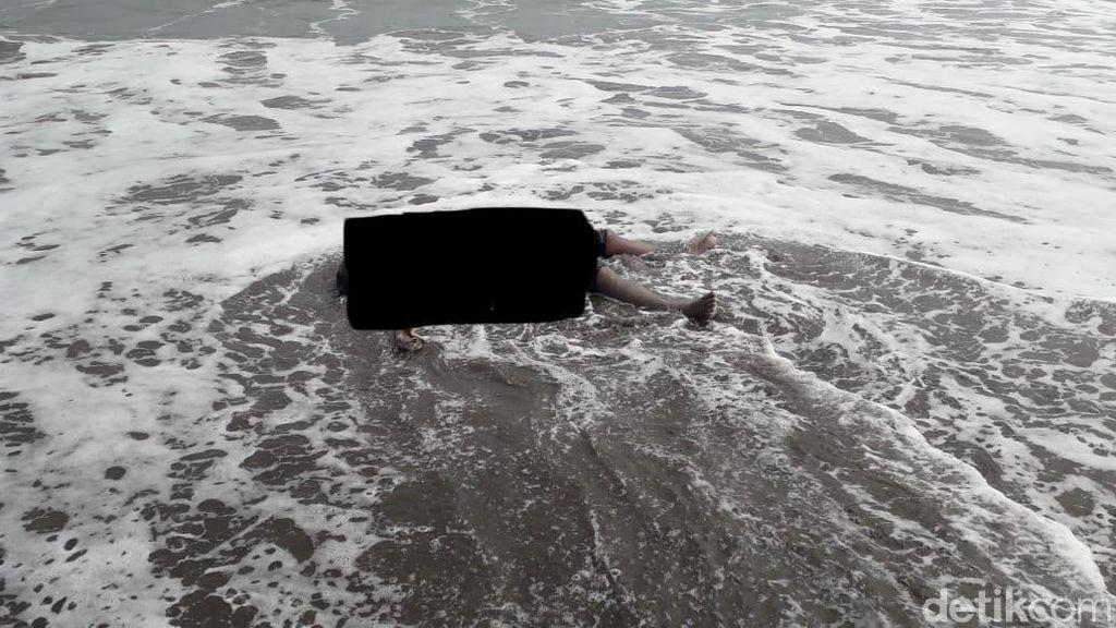 Video Mayat Pria Ditemukan Mengapung di Pantai Tanjung Makassar