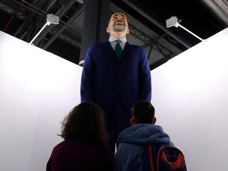 Aneh! Patung Raja Spanyol Senilai Rp 3,2 M Dipajang Lalu Bakal Dibakar