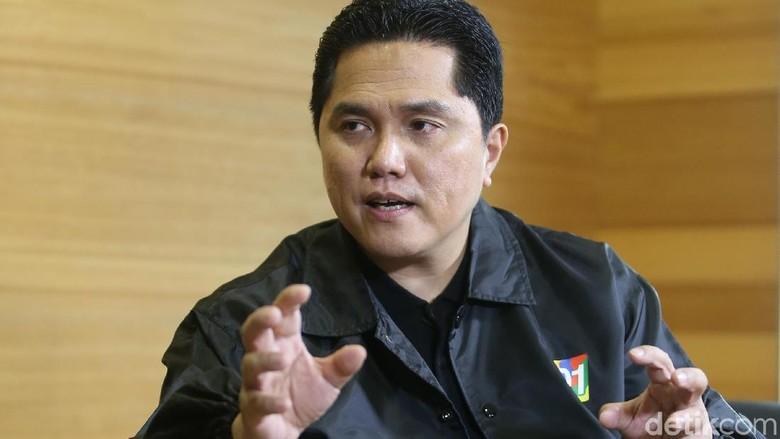 Blak blakan Ketua TKN Erick Thohir, Kejutan Jokowi di Jawa Barat
