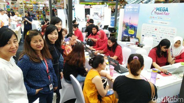 Tiket Murah ke Jepang Rp 4 Jutaan di Mega Travel Fair Semarang