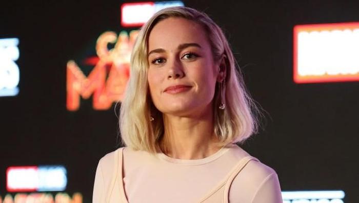 Olahraga Brie Larson, pemeran Captain Marvel. Foto: Dok. Getty Images