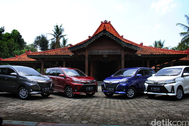 Toyota Avanza. Foto: Dok. Toyota-Astra Motor