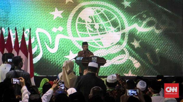 Ketua Umum PBNU Said Aqil Siradj sempat menyatakan dukungannya kepada Jokowi-Ma'ruf.