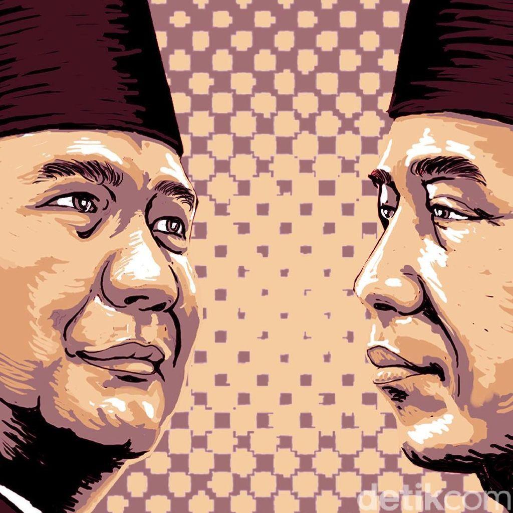 Elektabilitas Jokowi-Prabowo Semakin Menipis?