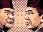 Beda Narasi Jokowi vs Prabowo di Kampanye Akbar Perdana