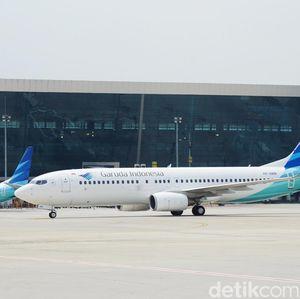 Garuda Imbau Penumpang Tak Ambil Foto dan Video di Pesawat