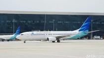 Garuda Pikir-pikir Minta Ganti Rugi Pesawat Retak ke Boeing