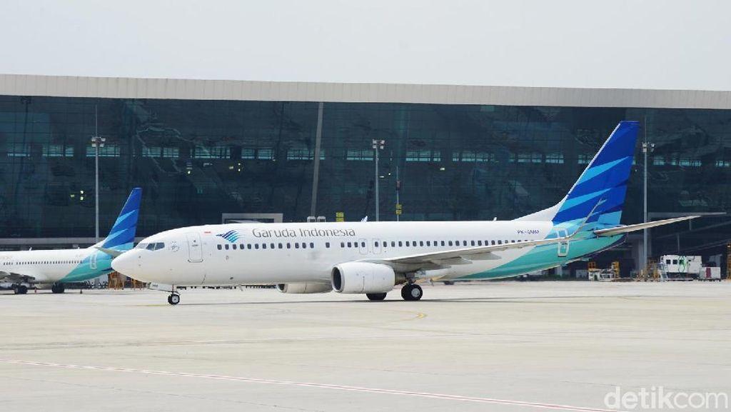 Garuda Tinjau Ulang Rute Penerbangan ke Eropa