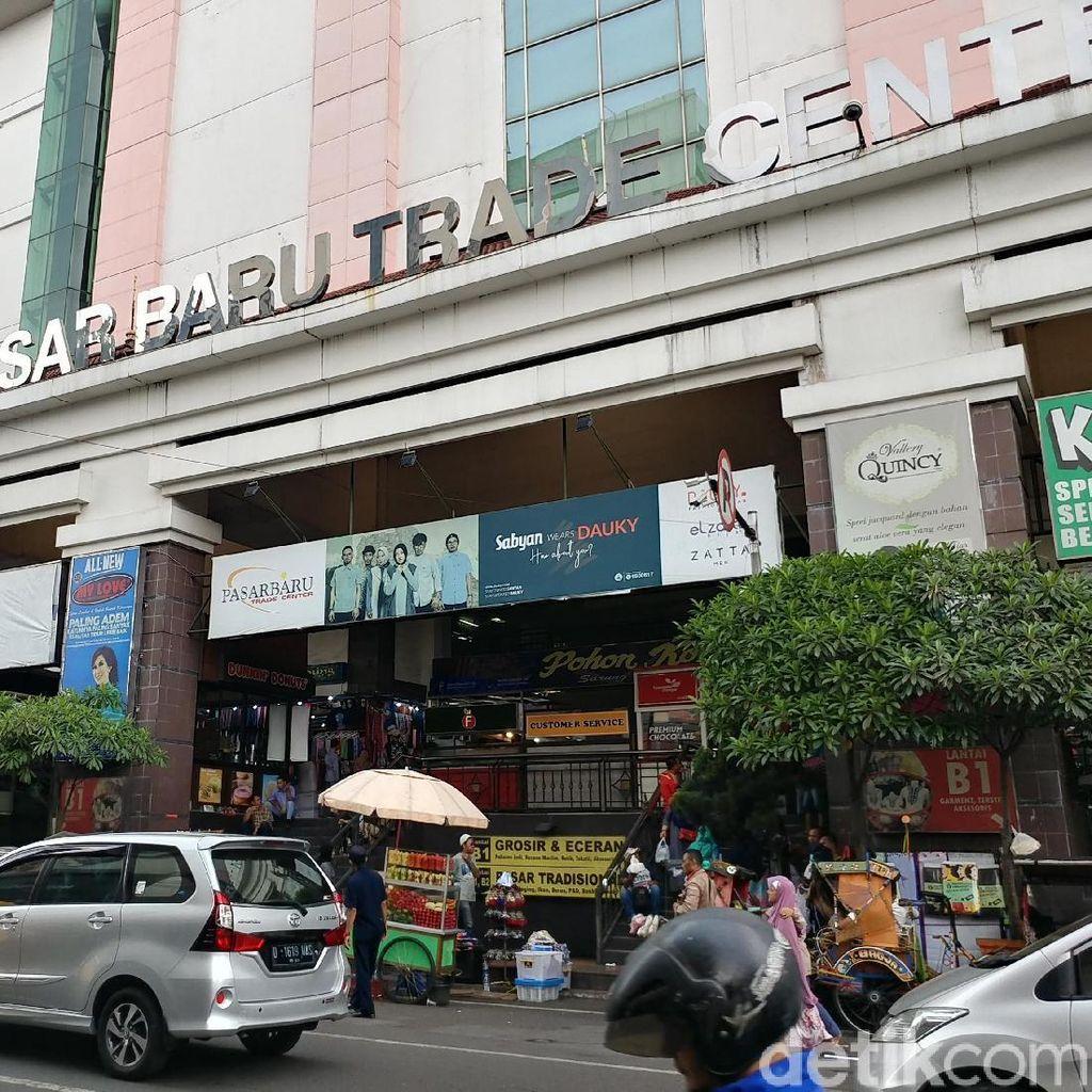 PD Pasar Inventarisasi Perbaikan Pasar Baru Bandung