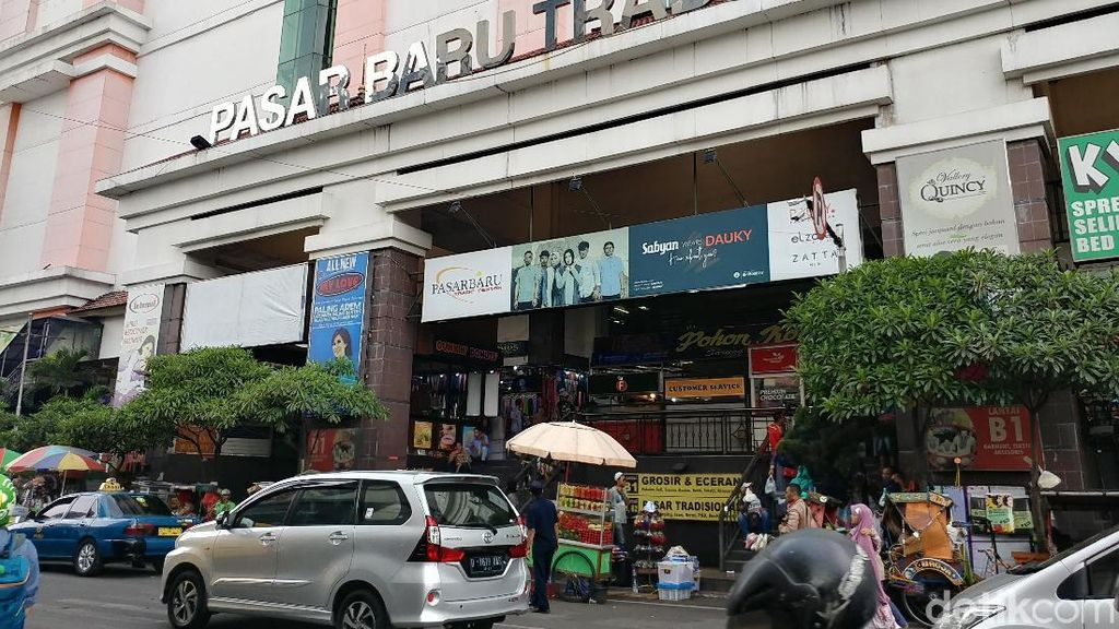 Preman Mabuk yang Usik Pengunjung Pasar Baru Bandung Dipolisikan