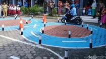 Horee.. 7 Polsek di Blitar Sediakan Tempat Latihan Praktik Bikin SIM